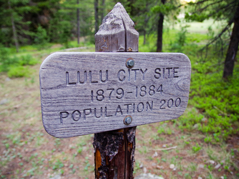 Rocky Mountain National Park: Lulu City