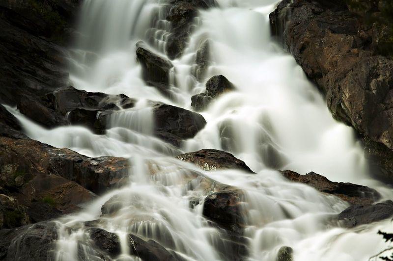 Cascades over Hidden Falls
