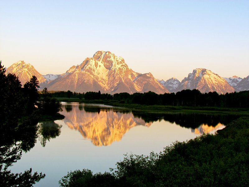 Grand Teton National Park from Oxbow Bend