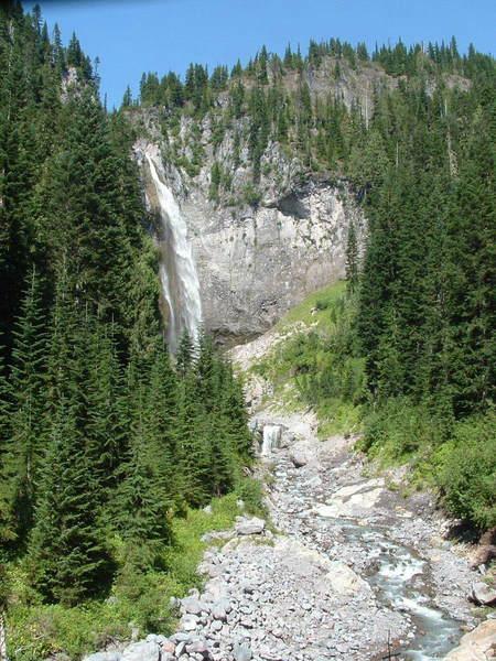 Comet Falls, 320 foot fall