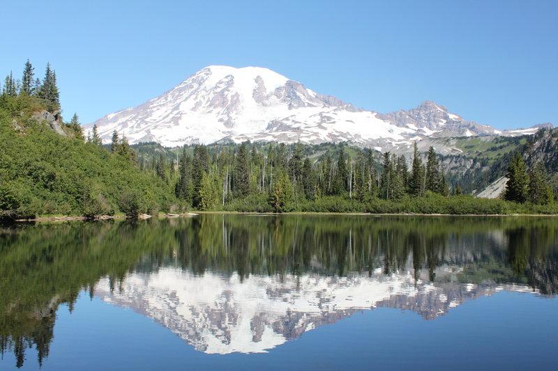 Bench Lake at  Mount Rainier National Park