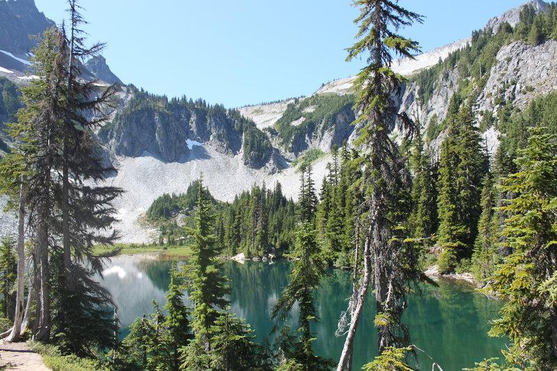 Snow Lake at Mount Rainier National Park