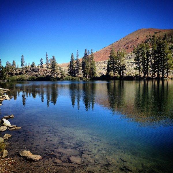 Arrowhead Lake and Back Side of the Sherwin Range