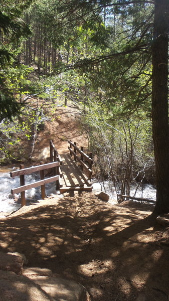 One of the bridges you cross on Pikes Peak Ultra while on Seven Bridges!