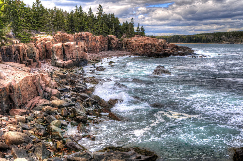 Near Thunder Hole, Acadia National Park
