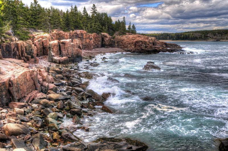 Near Thunder Hole, Acadia National Park