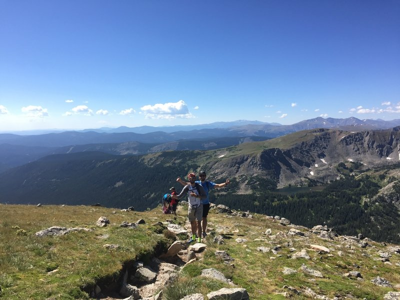 """""""Life above tree line is awesome!"""""""