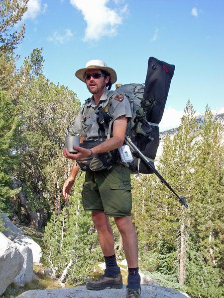 One of Yosemite Nat'l Park's rangers at work!