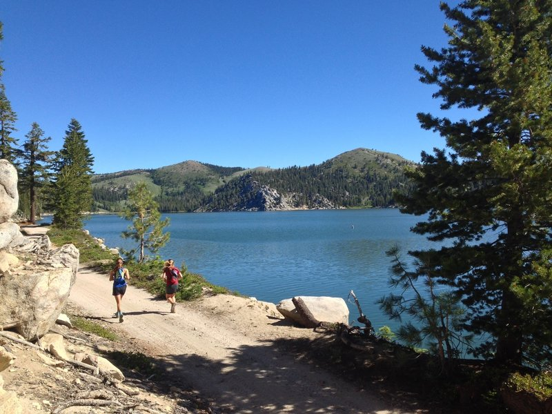 On the shores of Marlette Lake
