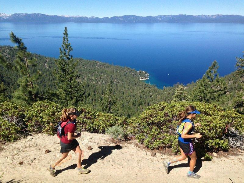 Stunning views of Lake Tahoe