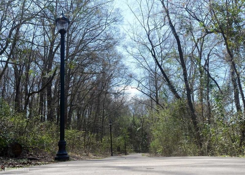 The North Oconee Greenway near Dudley Park