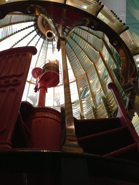 Point Reyes Lighthouse and the Fresnel lens