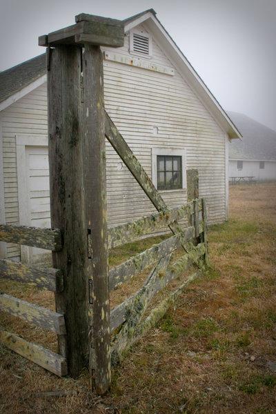 Pierce Point Ranch Gate
