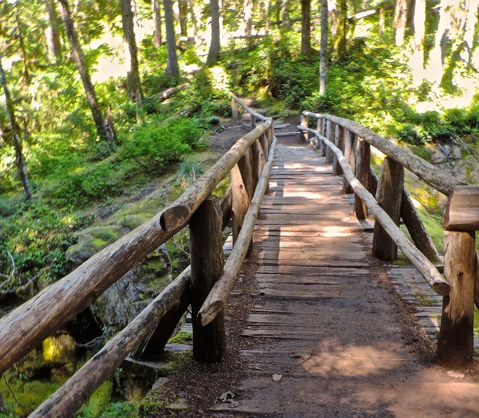 Another awesome wood bridge