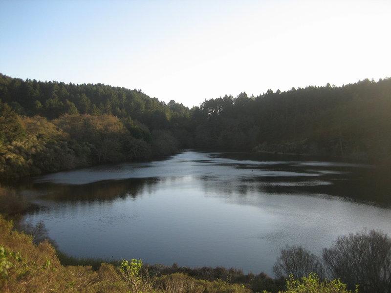 Bass Lake at Dusk