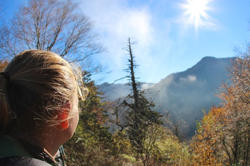 The day the Smokies are gone in the afternoon