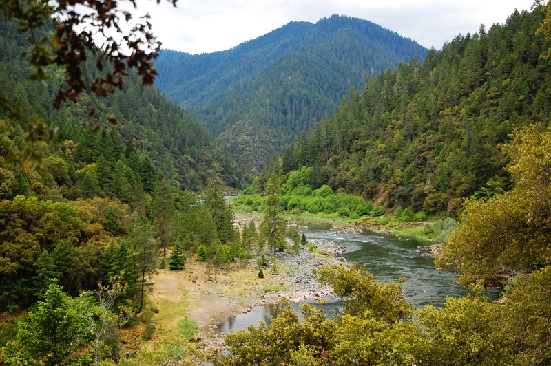 Near Russian Rapids on the Rogue River