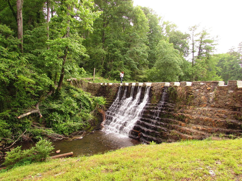 Ricks Pond Waterfall