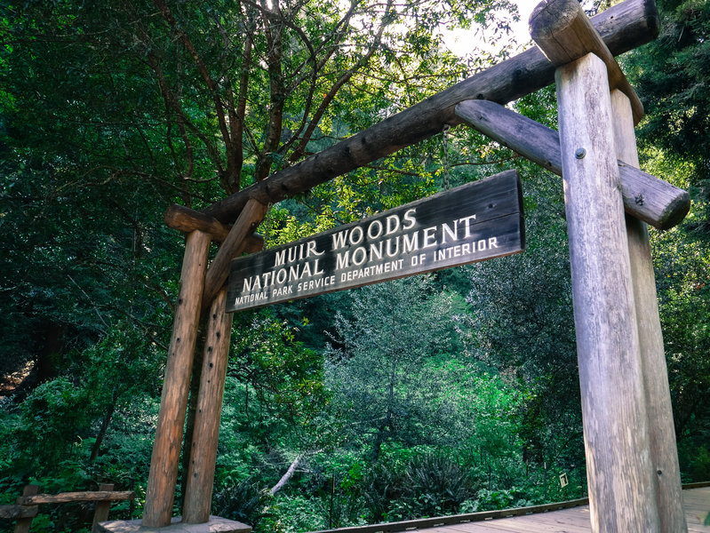 Muir Woods Entrance