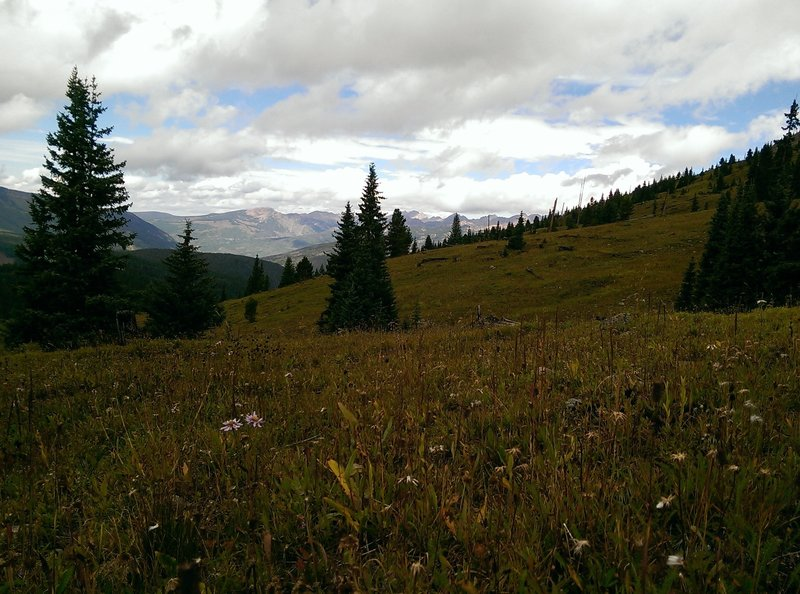 Great views of the Gore Range.