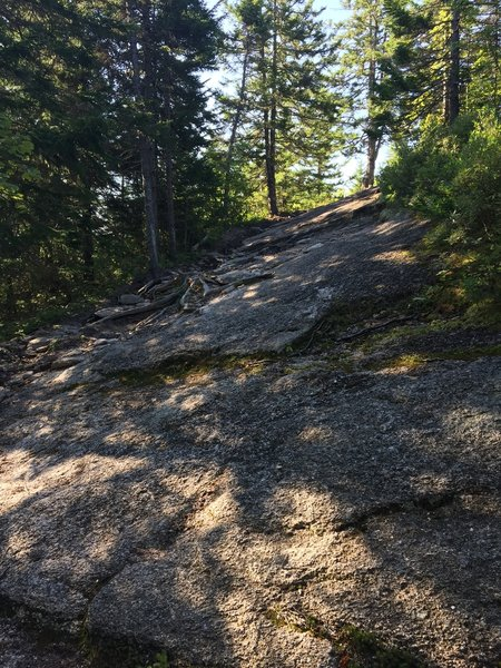 Example of some of the granite step ups that can be found.