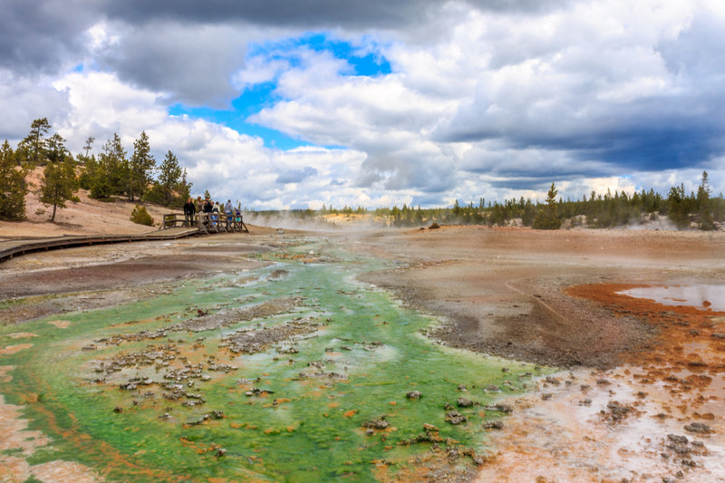 Color palette of Yellowstone.
