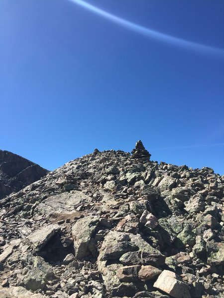 Standard terrain along the ridge.