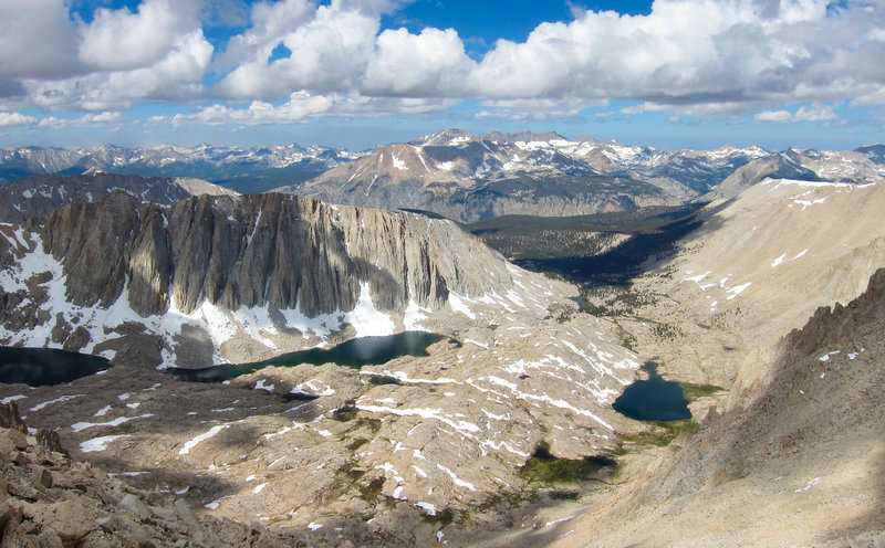 View west from Mount Whitney Trail