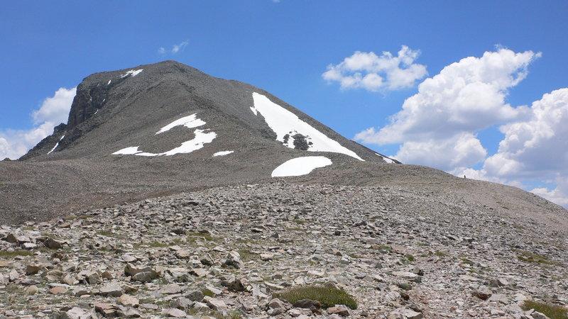 On route to Wheeler Peak.