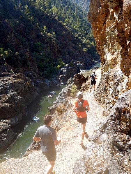 Beautiful stretch of trail along Mulecreek Canyon