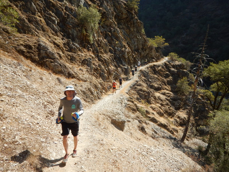 A hot climb up the Rogue River Trail