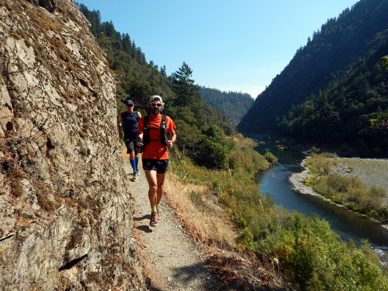 Awesome running on the Rogue River Trail