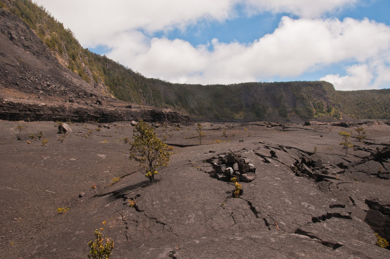 Once molten lava forms the trails here!