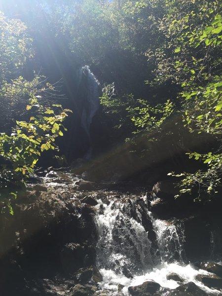 Waterfall turn around point!