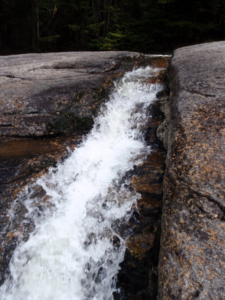 Indian Falls is a great example of the rock type present in the Adirondacks
