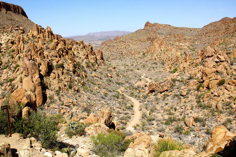 Grapevine Hills Trail.