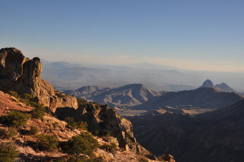 From the Chisos Mountains