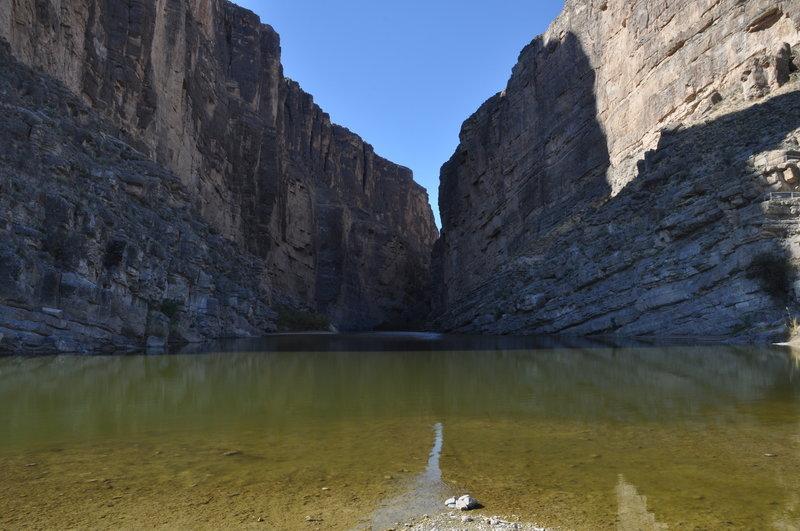 Mouth of Santa Elena Canyon