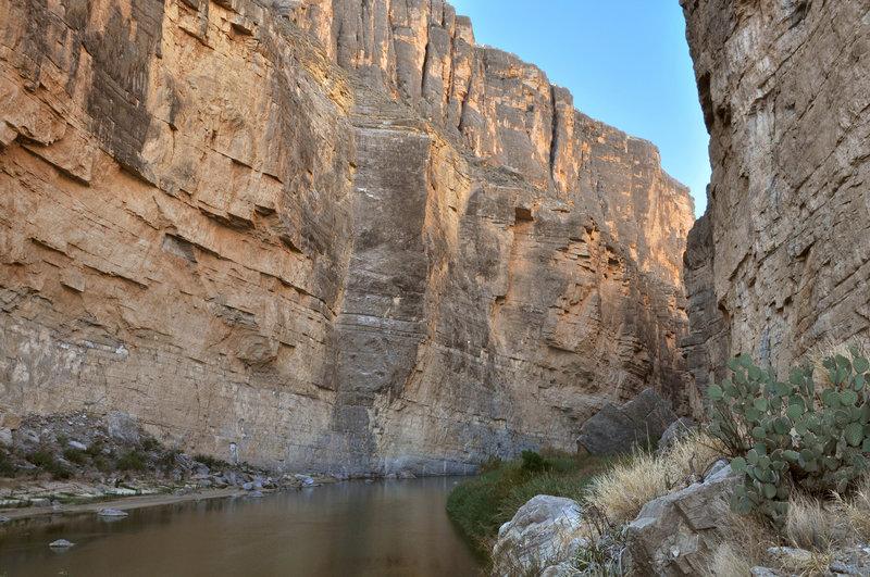 Exploring Santa Elena Canyon