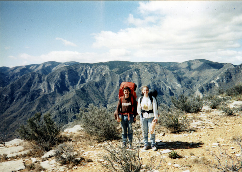 Guadaloupe Mountains hiking.