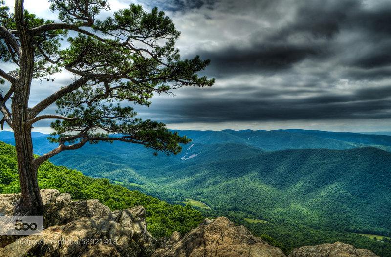 Ah... the Blue Ridge Mountains.