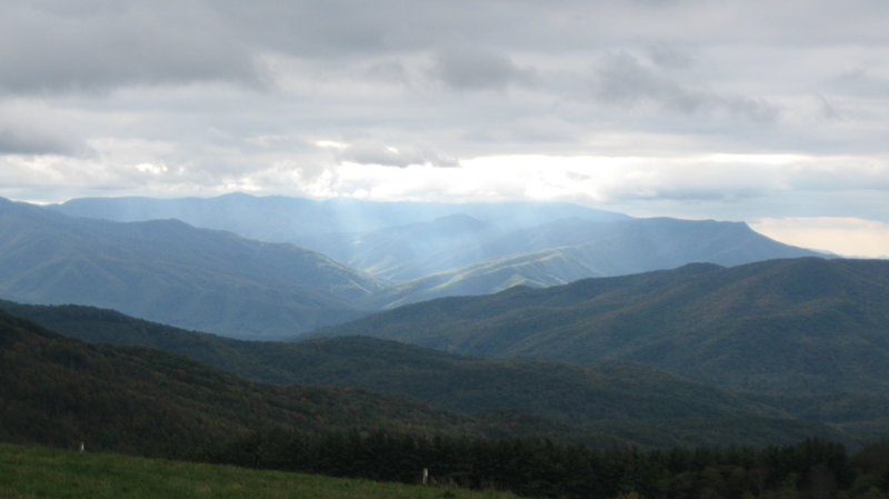 Max Patch with awesome Sun rays.