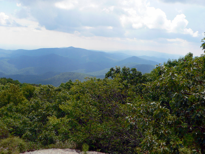 View from the Blood Mountain Shelter.