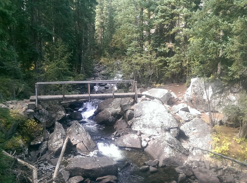 This is the way hikers get across Cross Creek