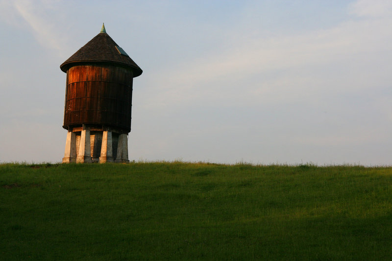 Water tower off of the AT.