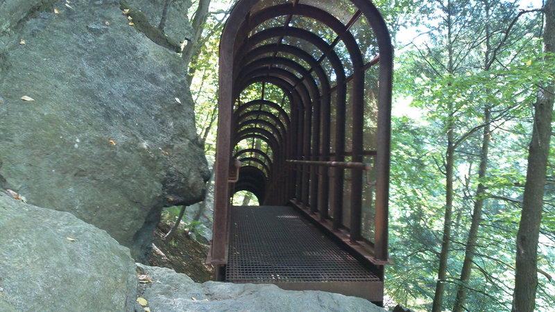 Fingerspan Bridge - Actually pretty cool!