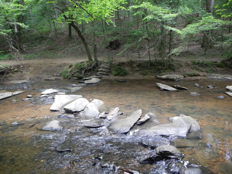 Crossing of the North Branch of Rock Creek.