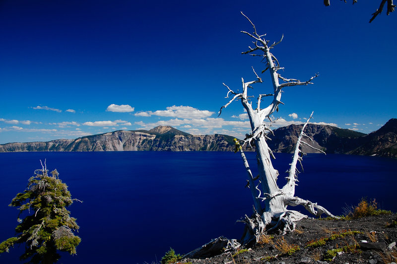 Crater Lake from Wizard Island Cinder Cone.