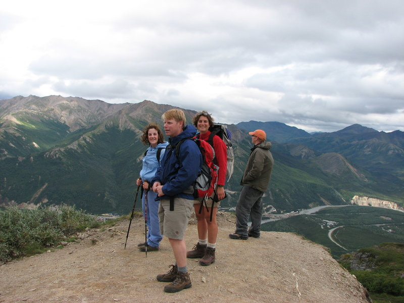 Denali: Mt Healy Overlook Hike.