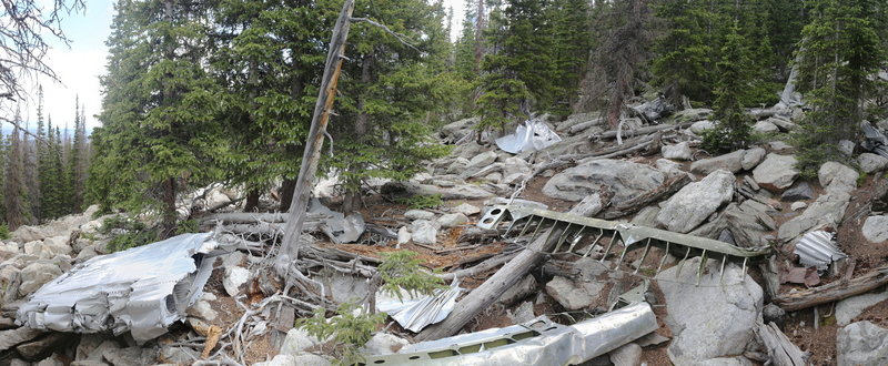 Crown Point B-17 crash site.